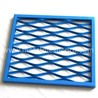 Buy cheap architectural wire mesh panels Expanded Metal Mesh Wall Panels from wholesalers
