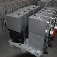 Buy cheap Hydraulic Radiator Air Cooled Heat Exchangers Tank Fan Suction Oil Filter product