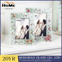 Buy cheap Wear Resistance Classic Glass Wedding Photo Frames 180*230*15MM from wholesalers