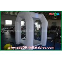 Buy cheap 1.5 * 1.5 * 2.5m White Custom Inflatable Products Customized Inflatable Box Tent from wholesalers
