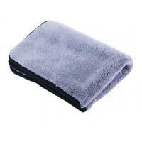 Buy cheap Microfibre Velour Fluffy Car Wash Towel Brown 34*52cm super sot car cleaning cloth(AD-0151) from wholesalers