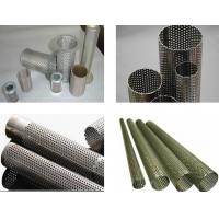 Buy cheap Perforated metal pipes,perforated metal tubes from wholesalers