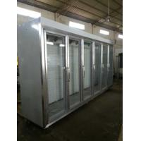 Buy cheap Transparent Seamless Splicing Glass Door Freezer For Restaurant from wholesalers