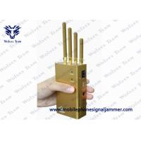 Buy cheap Handheld GPS Jammer 2 Watt Output With Selectable Switch GPS L1 / L2 / L5 product