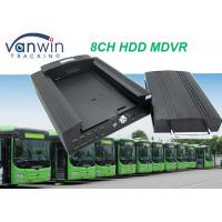 Buy cheap 4G GPS Wifi 8ch vehicle DVR / NVR for Taxi School Bus Car Truck solution from wholesalers