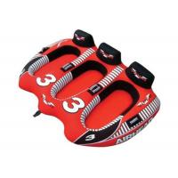 Buy cheap 3 Person Water Towable Ski Tube Red With En71 Approval , 94x71inch from wholesalers