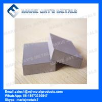 Buy cheap High Wear Resistance Rectangular Tungsten Carbide Strips/Plates from wholesalers