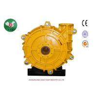 Buy cheap Low Pressure Heavy Duty Slurry Pump , Horizontal Single Stage Centrifugal Pump from wholesalers