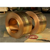 Buy cheap Earthing Copper Strip Thick 0.05mm H70 CDA 14000 Series C7541 C7521 C7701 from wholesalers