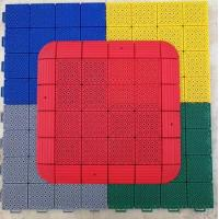 Buy cheap long life polypropylene  Assembly Anti Slip Interlocking Removable Plastic Floor Tile from wholesalers