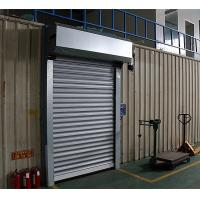 Buy cheap Electric Roller Garage Doors 304 Stainless Steel Frame Closing Speed 0.2m/s from wholesalers