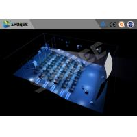 Buy cheap Hydraulic 4D Cinema 5D 6D 7D  Imax Movie Theater Equipment With Dynamic Seats product