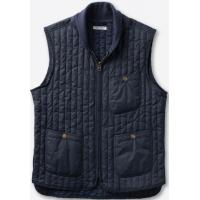 Buy cheap Lightweight Mens Quilted Down Vest , Water Resistant Mens Puffer Vest from wholesalers