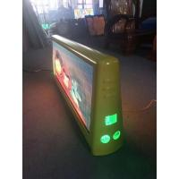 Buy cheap NEW product 2019 taxi top led sign with waterproof double side full color video from wholesalers