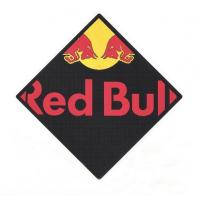 Buy cheap Embossed logo red bull PVC bar mat from wholesalers