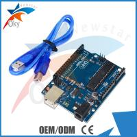 Buy cheap UNO R3  Board for Arduino Funduino B type  USB Cable 6-20V 40mA ATmega328 from wholesalers