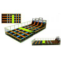 Buy cheap 200M2 2017  Adults Indoor Bungee Trampoline Park Jumping Fitness Square Kids Cheap Sky Zone Indoor Trampoline Park from wholesalers