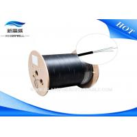 Buy cheap Single Core Multimode Glass Fiber Optic Cable Drop Cable Black White 50 / 125 from wholesalers