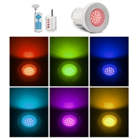 Buy cheap synchronous control ABS structure waterproof led swimming pool lights from wholesalers