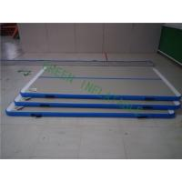 Buy cheap Durable White Top Air Tumble Track Mats For Athlete 2 Years Warranty from wholesalers