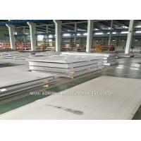 Buy cheap 2B Surface Super Duplex Stainless Steel Plate 2205 2507 Cutting Customized from wholesalers