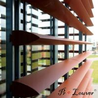 Buy cheap Hot sale deluxe Aerobrise sun louvers, architectural exterior sun louver product