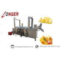 Buy cheap Continuous Automatic Food Fryer Machine|Potato Chips Fryer Machine|French Fries Fryer Machine|Automatic Fryer Machine. from wholesalers