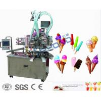 Buy cheap Continuous Freezing Ice Cream Production Equipment 220V / 380V Low Consumption from wholesalers