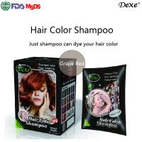 Buy cheap ROYAL Hair Coloring Natural Brown Shampoo With No Ammonia Best Hair Colour Magic Henna Hair Dye from wholesalers