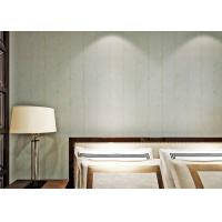 Buy cheap Light Green Washable Vinyl Wallpaper With Peel And Stick Embossed Surface , Strippable Type product