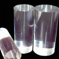 Buy cheap Round High-transparent Plexiglass Rod with Polished Surface Finish, Measures 8 to 200mm from wholesalers
