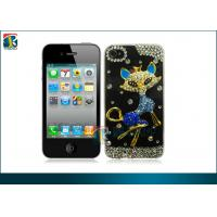 Buy cheap Customized Fashionable Sparkly Fox Diamond Bling Hard Case For Iphone 4 / 4s OEM from wholesalers