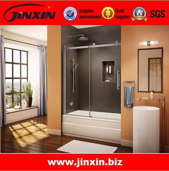 Quality Stainless steel sliding glass door shower doors interior doors for sale
