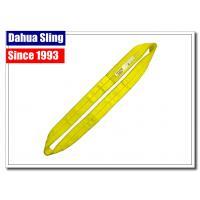 High Tenacity Yellow Endless Lifting Slings 3000KG Working Load Rainproof