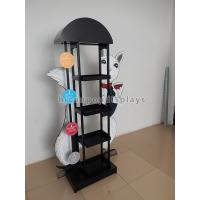 Buy cheap Eyecatching Wine Display Rack Metal Grape Wine Commercial Wine Floor Standing Rack from wholesalers