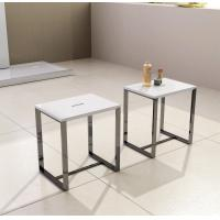 Buy cheap Professional  Resin 	Stone Shower Stool 400*300*430 White Grey Black Optional from wholesalers