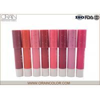 Professional Kiss Proof Lipstick Pencil , Environment Protection Pale Pink Lipstick
