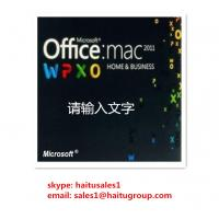 Buy cheap Office 2011 Home And Business MAC FPP Key For Microsoft Office Product Key Codes Online Activation from wholesalers