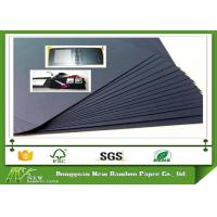 Buy cheap Environment Mixed Pulp Laminated Black Paperboard for Making Photo Album from wholesalers