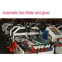 Buy cheap carton automatic folder gluer machine with pre-fold function from wholesalers