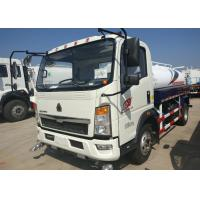 Buy cheap 5 - 8CBM Water Tanker Truck With Light Truck Chassis LHD Steering 90km/H Max Speed from wholesalers