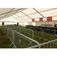 Buy cheap Stainless steel galvanized crowd control barrier For road traffic safety from wholesalers