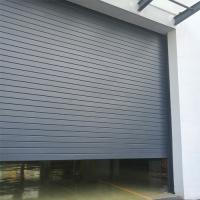 Buy cheap Big size / big opening windproof wind resistant aluminum roller shutter door factory from China SA120 from wholesalers