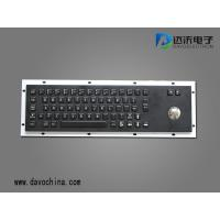 Buy cheap IP65 Industrial/Kiosk Metal PC Keyboard with trackball D-8602B from wholesalers