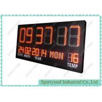Buy cheap Electronic clock board with temperature led display from wholesalers