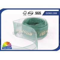 Buy cheap Sheer Packaging gift wrap Organza ribbon for Wedding Florist Corporate from wholesalers