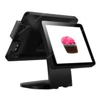 Buy cheap Dual 15 inch Touch screen china POS terminal restaurant system for Pint of Sale with good quality from wholesalers