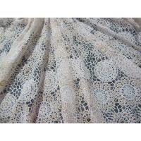 Buy cheap White Cotton Polyester Lace Fabric Thick Geometric Burnout Lace for Dress Decoration(CY-DK0023) from wholesalers