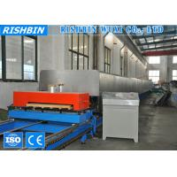 Buy cheap Galvanized Sheet Color Steel PU Sandwich Panel Production Line for Mobile House from wholesalers