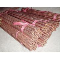 Buy cheap Excellent freezing  seamless red copper pipe / tube ASTM B68 standard / un-standard from wholesalers